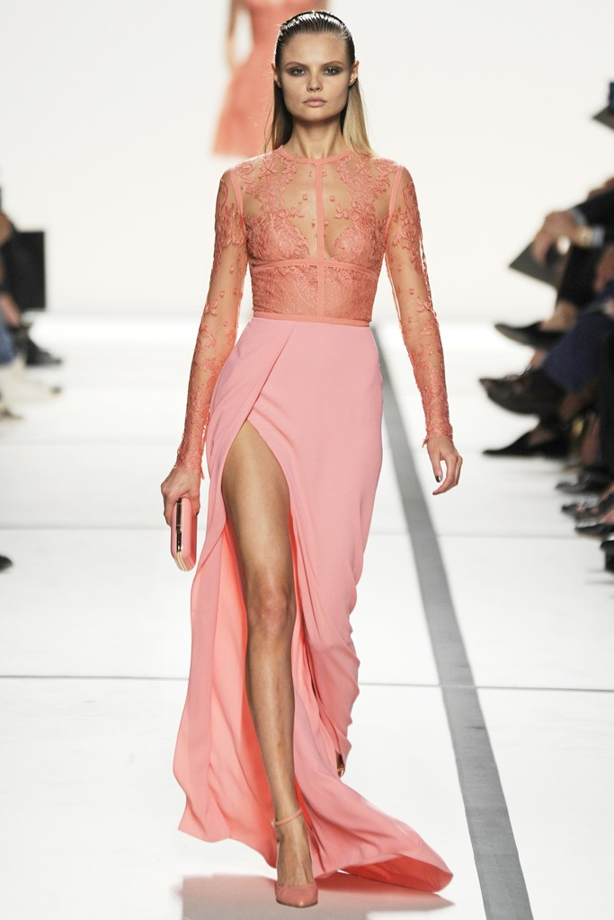 Paris Fashion Week Elie Saab Spring 2014