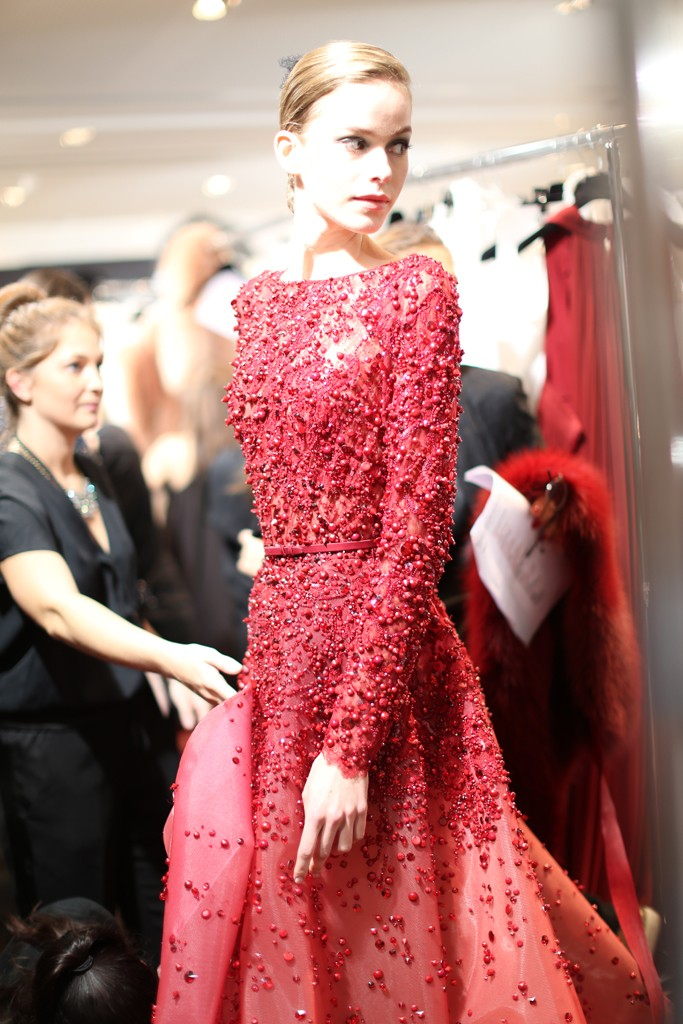 Beauty looks at Elie Saab Couture show