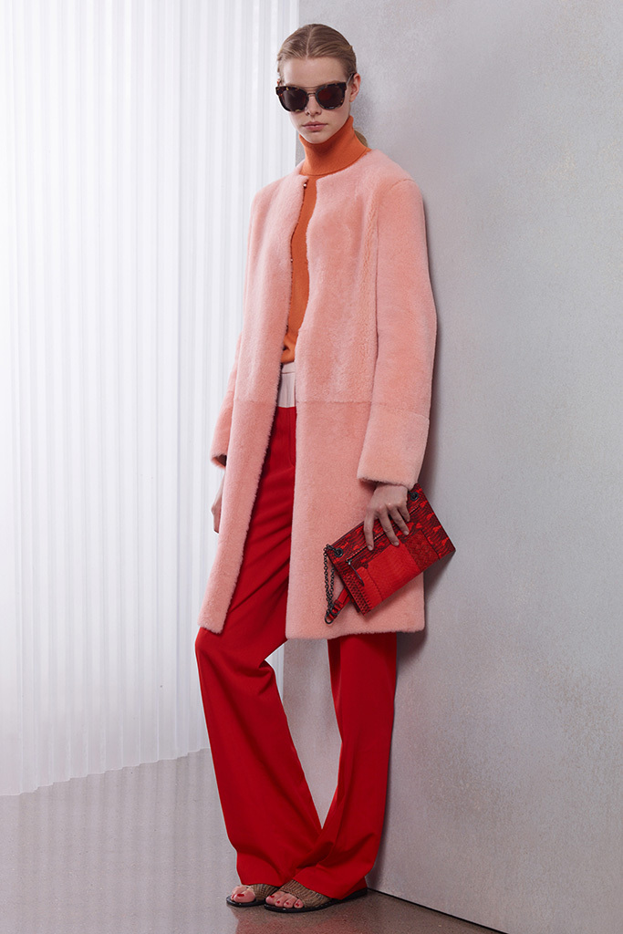 Bottega Veneta Resort 2016, the color trend