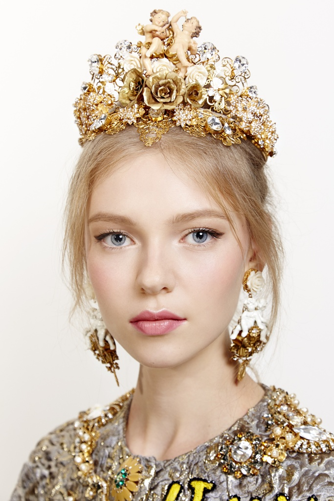 Backstage at Dolce&Gabbana, Paris Fashion Week Spring Summer 2016