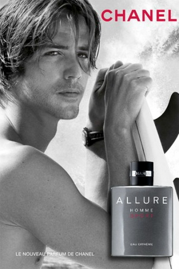 ben fuller pour chanel allure homme sport pub. Black Bedroom Furniture Sets. Home Design Ideas