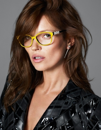 7c85d6278af249 Kate Moss for Versace s New Line of Eyewear