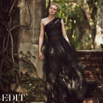Gwendoline Christie, star de Game of Thrones, The Interview for The Edit