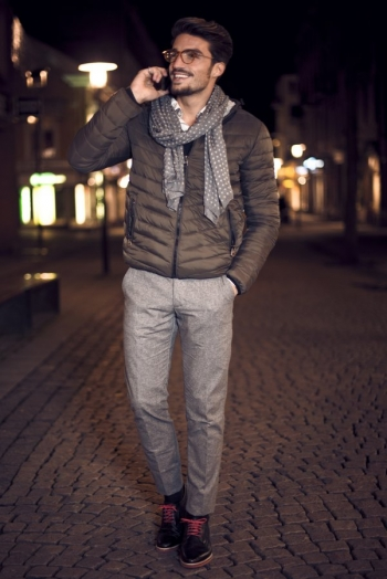 Male street style outfit for a night in the city