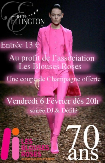 A Fashion Show in pink for a good cause
