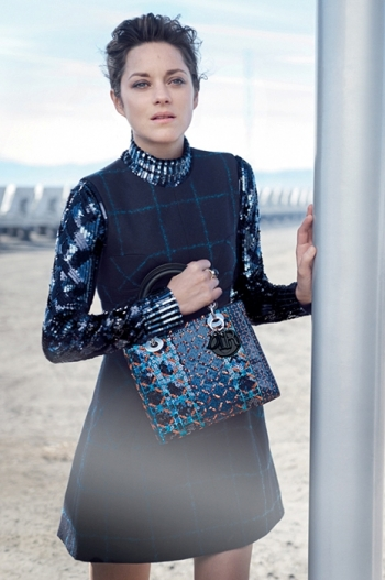 Marion Cotillard, the face of Lady Dior Spring Summer 2015