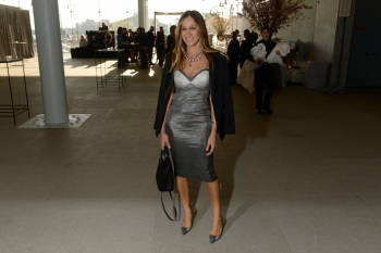 Sarah Jessica Parker in Max Mara at the opening of Whitney Museum