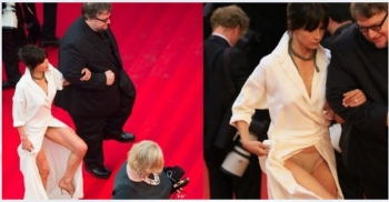 The Year of the Panties on the Red Carpet of Festival of Cannes