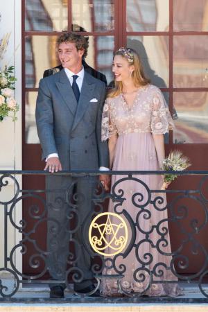 Beatrice Borromeo Wears Valentino as the bride for Pierre Casiraghi