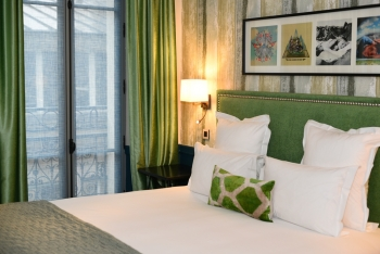 Hippie Chic Journey at the typically Parisian hotel, Adele & Jules