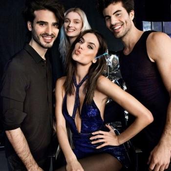 Supermodel Alessandra Ambrosio shares Hot Celebrations