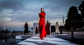 Amber Lounge Monaco teams up with fashion designer SAFiYAA