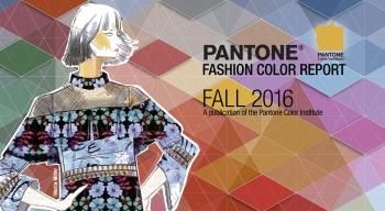 Pantone Fashion Color Report Autumn 2017
