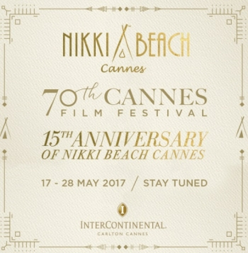 Nikki Beach Celebrates its 15th anniversary at the 70th Cannes Film Festival