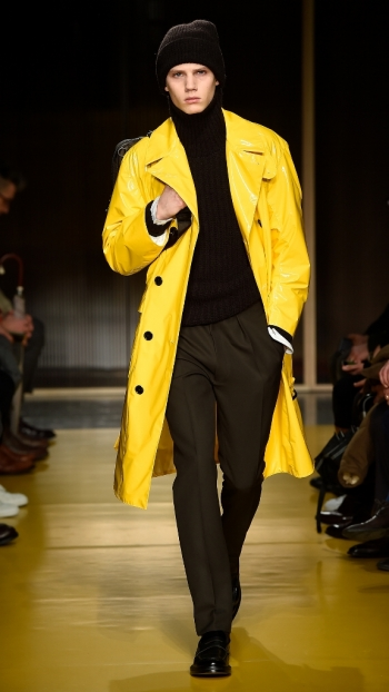 BOSS Menswear Fashion Show Fall/Winter 2018