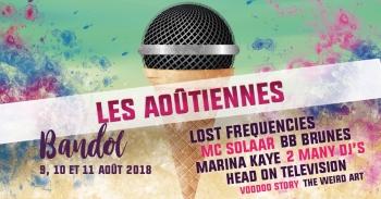 Les Aoûtiennes Festival in Bandol : a 100% francophone edition
