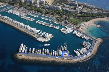 D-8 Before the Launching of the 41st Edition of Yachting Festival Cannes
