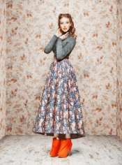 We love Ulyana Sergeenko lookbook for this Fall