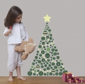 Original Christmas tree from Art For Kids