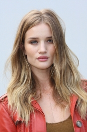 Rosie Huntington Whiteley at London Fashion Week SS12