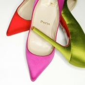 Pigalle shoes by Christian Louboutin on social media competition