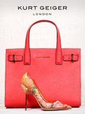 Win the Britton Mesh Heel and the Saffiano London Tote
