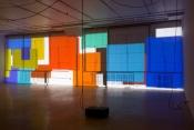 The artist Paul Chan exposition at Guggenheim, New York