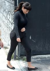 Kim Kardashian West playing Audrey Hepburn, a ridiculous thing