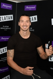 Zlatan Ibrahimovic Unveils His Perfume At Marionnaud