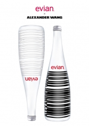 evian® x Alexander Wang: Christmas special collaboration