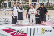 XCAT powerboats grab F1's Button and Volvo champ Walker's attention in Abu Dhabi