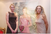 Interview with the artist behind Princess Charlene of Monaco stamp