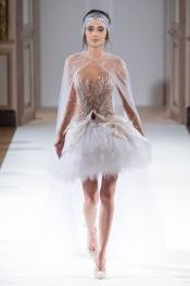 Deborah Hung, star model  at Yanina Couture SS16