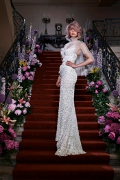 Dutch Couturier Edwin Oudshoorn shows during Paris Fashion week 2016