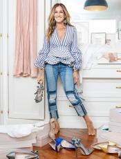 Sarah Jessica Parker and Net a Porter capsule collection, perfect for Holidays