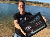 Rémi Gaillard, nominated the Personality of the year 2016 by Peta