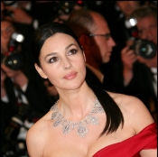 Monica Belucci at Monte Carlo Film Festival