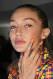 CND goes with glitter at Jeremy Scott Fashion Show in New York