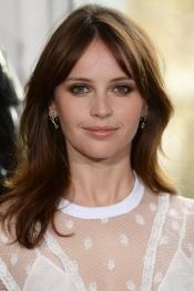 Felicity Jones, ambassador for the beauty brand Clé de Peau
