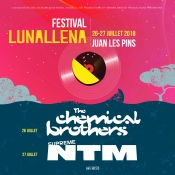 Chemical Brothers, the first names of the Lunallena Festival 2018