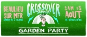 Crossover Summer Garden Party Electro World a Beaulieu