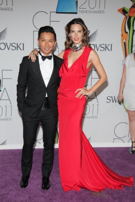 Pascal Gurung & Alessandra Ambrosio