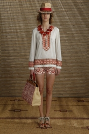 Fashion Trends from Tory Burch Resort 2014