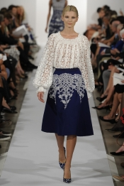 Oscar de la Renta Spring 2014 fashion collection