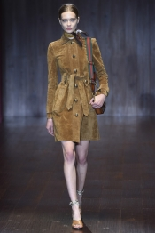 Gucci Printemps 2015 a la Fashion Week de Milan