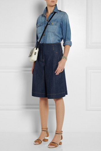Cheap Low Price Pictures Sale Online denim culottes - Blue See By Chloé Wholesale Quality Clearance Low Price 2018 New HX3Y8