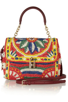 Dolce & Gabbana Micro sac porté épaule St Dauphin 76Hjlt9