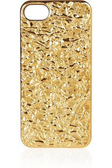 shopping marc by jacobs coque pour iphone  effet metallise d