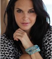 Nisha Beaded Bracelet - Turquoise