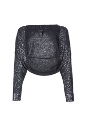 DONNA KARAN Flint Sequined Shrug